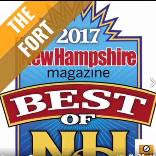 Fort and FortyCycle win Best of NH 2017 Community Fitness Center