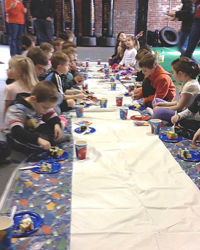 Fortitude hosts birthday parties for kids and adults